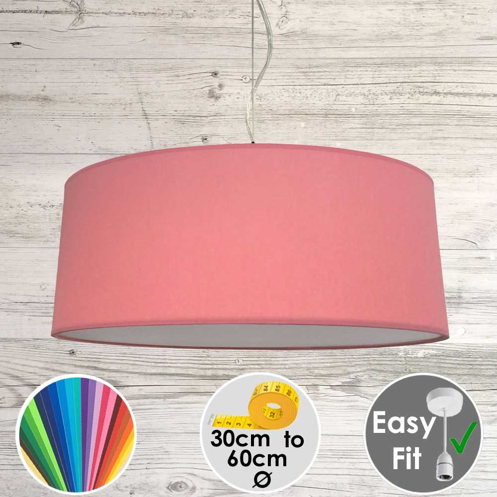 Coral Drum Light Shade